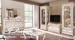 Desain Bufet Tv Minimalis Klasik Eropa Style