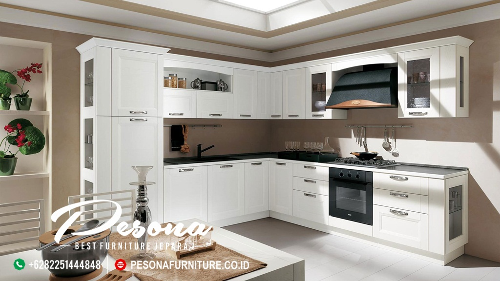 Desain Dapur Kitchen Set Minimalis Pesona Furniture