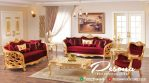 Furniture Sofa Tamu Lengkung Ukir Mewah Jepara