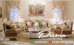 Sofa Tamu Mewah Miniamlis Klasik