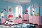 Tempat Tidur Anak Nuansa Pink Model Terbaru