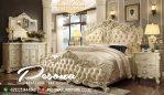 Set Tempat Tidur Mewah Ukir Klasik, Kamar Tidur Mewah Paling Diminati