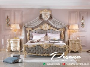 Tempat Tidur Mewah The King Off Raja Terbaru Jepara