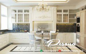 Desain Dapur Kitchen Set Ukuyama Model Italy Mewah