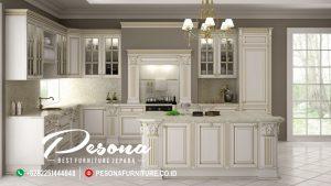 Desain Kitchen Set Minimalis Khas Furniture Jepara