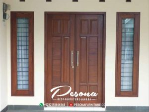 Kusen Pintu Jati Tua Kualitas Furniture Jepara