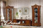 Set Bufet Tv Natural Klasik Jati Tpk Pengrajin Mebel Jepara