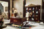 Set Meja Kantor Ukir Klasik Mewah Jepara Terbaru