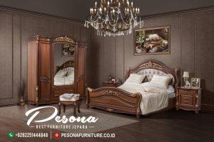 Model Tempat Tidur Jati Ukir Mewah Klasik, Jual Tempat Kamar Tidur Jepara