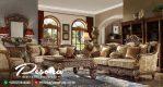 Set Sofa Tamu Full Ukir Klasik Terbaru, Desain Sofa Tamu Ukir Mewah