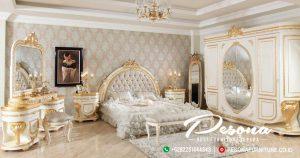 Tempat Tidur Bundar Ukir Mewah Jepara, Set Tempat Tidur Klasik New Desain