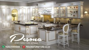 Jual Kitchen Set Ukir Klasik Mewah Terbaru, Kitchen Set Dengan Model Terbaru Jepara