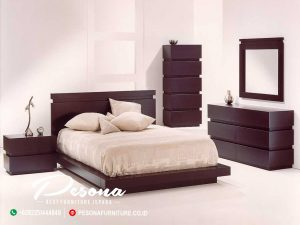 Model Terbaru Set Kamar Tidur Minimalis, Jual Tempat Tidur Jati Minimalis