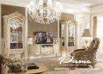 Harga Bufet Tv Mewah Model Klasik Terbaru, Jual Set Bufet Tv Mewah Jepara