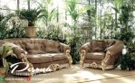 Model Terbaru Sofa Ruang Tamu Mewah Ukir Mawar Klasik
