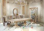 Set Meja Makan Mewah Model Rumah Terbaru, Kursi Meja Makan Ukir Klasik
