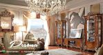 Bufet Tv Mewah Ukir Klasik Eropa Style Mebel Jepara Terbaru