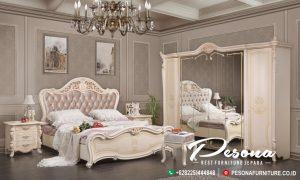 Desain Tempat Tidur Duco Putih Mewah Jepara, Set Tempat Tidur Mewah Terbaru