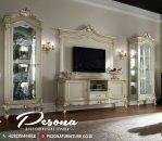 Harga Bufet Tv Mewah Duco Klasik, Desain Terbaru Bufet Tv Mewah Jepara