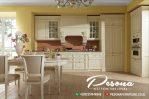 Ruang Dapur Dengan Desain Kitchen Set Mewah Klasik Kayu Jepara