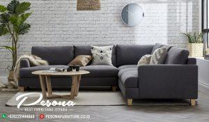 Ruang Tamu Dengan Sofa Minimalis Sudut Desain Modern Terbaru