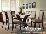 Set Meja Makan Minimalis Kayu Jati Model Terbaru Pesona Furniture