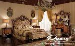 Tempat Tidur Ukir Mewah Desain Raja, Set Kamar Tidur Mewah Jepara
