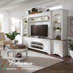 Bufet Tv Almari Dengan Model Minimalis Klasik Mewah