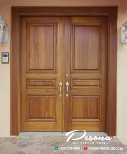 Desain Kusen Pintu Rumah Kayu Jati Minimalis Modern Jepara