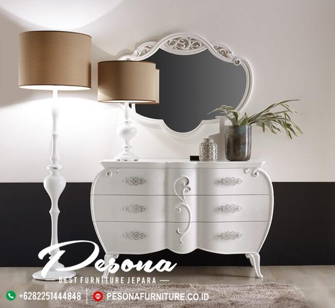 Meja konsul tempat tidur minimalis klasik