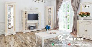 Set Bufet Tv Modern Minimalis Desain Duco Gold, Jual Set Bufet Tv Mewah