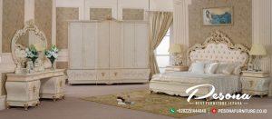 Set Kamar Tempat Tidur Ukir Mewah Klasik Kualitas Mebel Jepara
