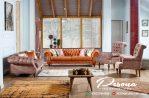 Set Sofa Tamu Retro Modern Minimalis Terbaru Furniture Jepara