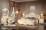 Set Tempat Tidur Duco Mewah Jepara Model Klasik