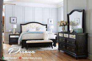 Set Tempat Tidur Minimalis Duco Warna Hitam Terbaru, Tempat Tidur Minimalis