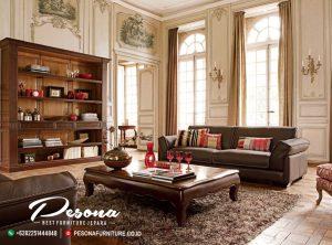 Sofa Santai Ruang Tamu Minimalis Dengan Desain Natural Klasik