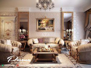 Sofa Tamu Mewah Turky Style Klasik Desain Terbaru