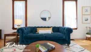 Sofa Tamu Minimalis Vintage Untuk Desain Ruang Tamu Modern