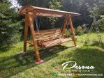Produk Ayunan Kayu Jati Untuk Taman Dengan Model Minimalis