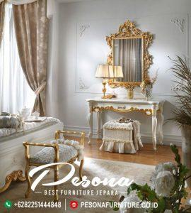 Furniture Meja Rias Mewah Ukir Klasik New Desain Terbaru