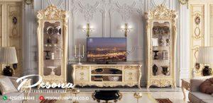 Meja Dan Bufet Tv Klasik Mewah Jepara Dengan Model Terbaru