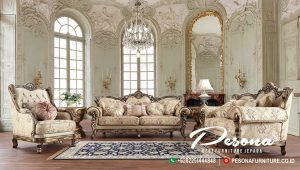 Model Sofa Ruang Tamu Luxcury Classic Mewah Ukir Jepara