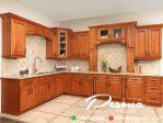New Desain Kitchen Set Kayu Jati Mebel Jepara Terbaru