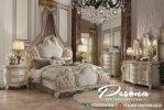 Produk Tempat Tidur Satu Set Mewah Terbaru Nuansa Klasik Jepara