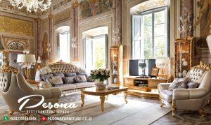 Set Sofa Ruang Tamu Mewah Ukir Turky Classic Terbaru