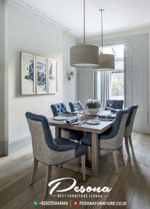 Jual Set Meja Makan 6 Kursi Model Rumah Minimalis Modern