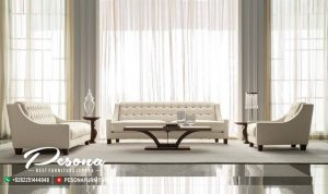 Mebel Jepara Sofa Ruang Tamu Minimalis Modern Model Terbaru