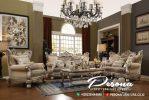 Mebel Sofa Set Ruang Tamu Mewah Ukir Klasik Jepara