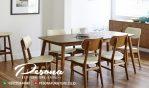 Meja Makan Minimalis Model Cafe Terbaru Mebel Jepara
