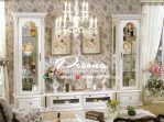 Set Bufet Tv Duco Putih Minimalis Modern Terbaru Furniture Jepara
